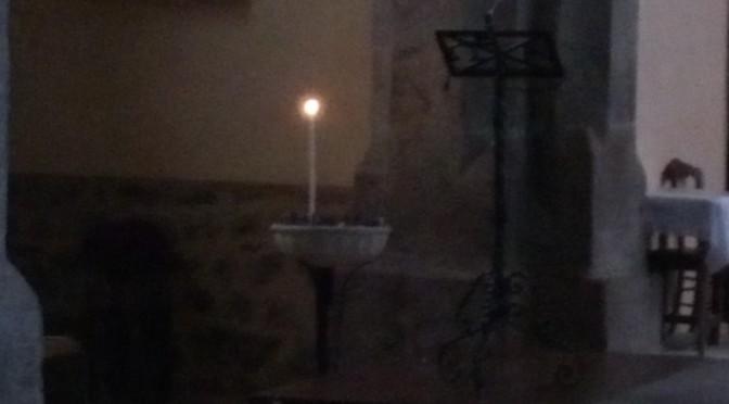 das licht einer kerze