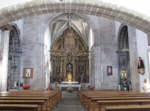 innen-ansicht einer kirche in melide