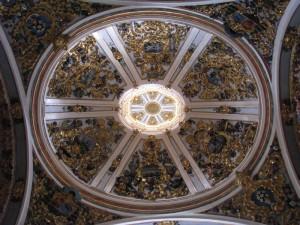 deckengemälde in der kathedrale von burgos